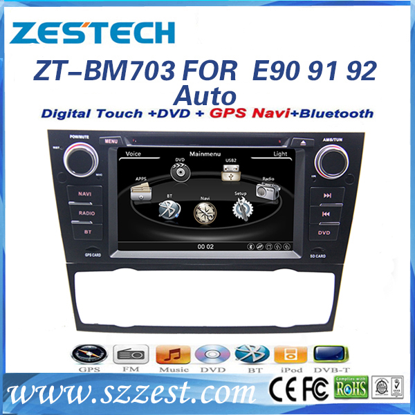 zestech car dvd navigation system for bmw e90 e91 e92 e93. Black Bedroom Furniture Sets. Home Design Ideas
