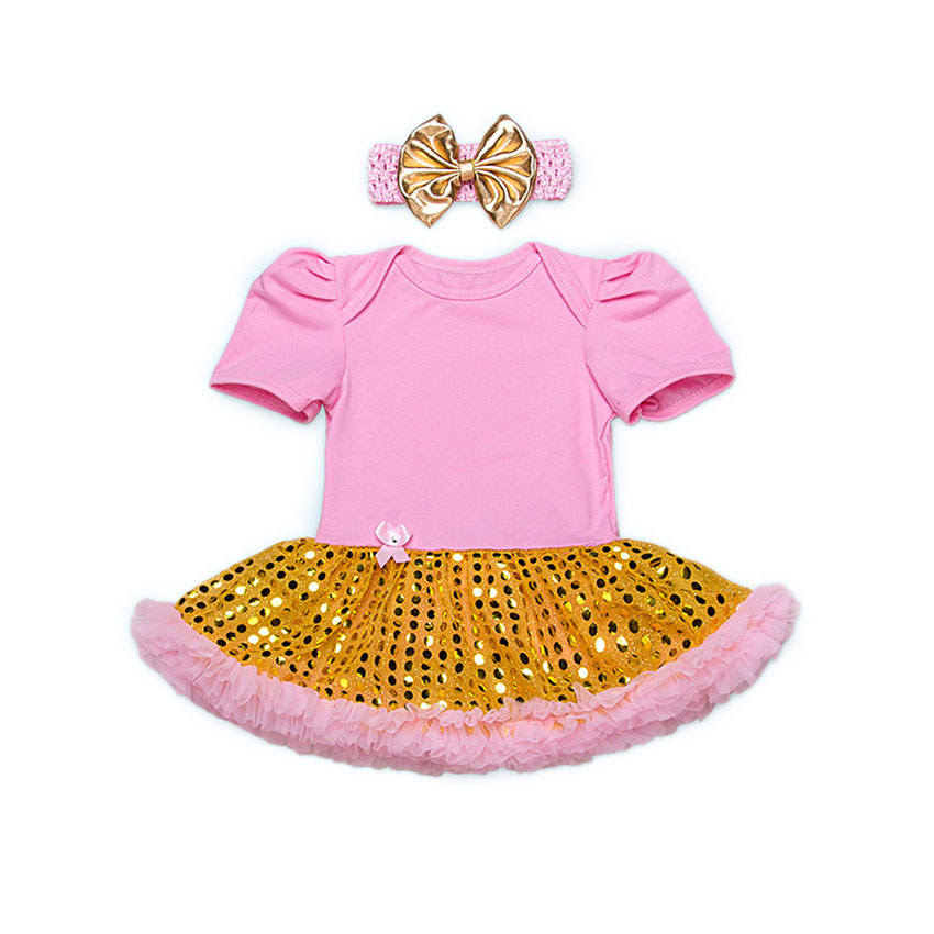 2017 New Arrival Baby Romper for Girls Cute Bow Tie Cotton Newborn Bebe Jumpsuit Sequins Dresses For Infant Suit for 0-24M puseky 2017 infant romper baby boys girls jumpsuit newborn bebe clothing hooded toddler baby clothes cute panda romper costumes