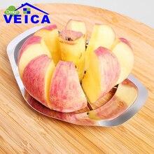 1 stück Hohe Qualität Apple Edelstahl Fruchtschneidmaschine multifunktions Edelstahl Aktenvernichter Schneidemaschinen Den Apfel Geschnitten Gerät