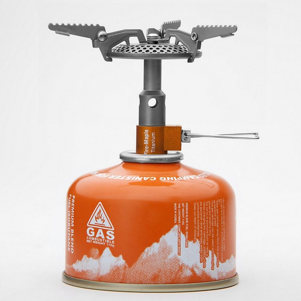 Подробнее о FMS-116T Fire maple Ultralight 48g Titanium stove Gas Camping Cooking Outdoor Stove Cookware Top Quality Hot Sale EA14 fire maple camping stove titanium stove hornet mini stove fms 300t