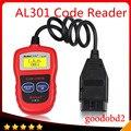 Для Autel Автоссылка AL301 OBDII МОЖЕТ Code Reader Clear DTCs Простой Диагностический Scan Tool Чтения и Ясности Диагностические Коды Неисправностей