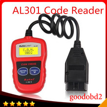 For Autel AutoLink AL301 OBDII CAN Code Reader Clear DTCs Easiest Diagnostic Scan Tool Read and Clear Diagnostic Trouble Codes autel maxitpms ts401 tpms diagnostic and service tool pre selection process offer faster activation and diagnostics