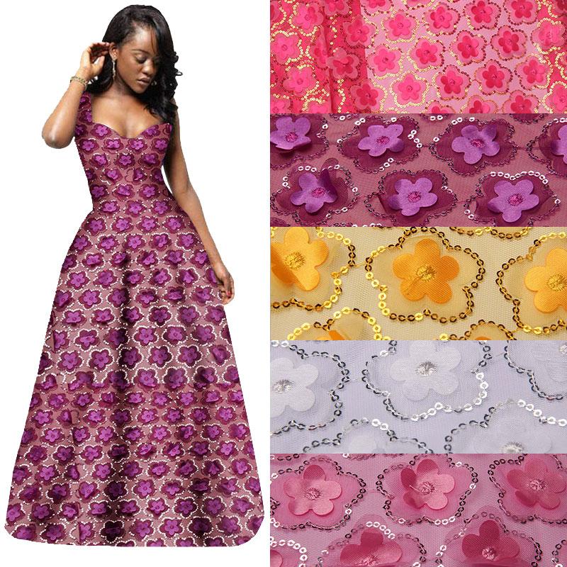 Tela de lentejuelas por yarda, telas de encaje rosa Fushia para - Artes, artesanía y costura