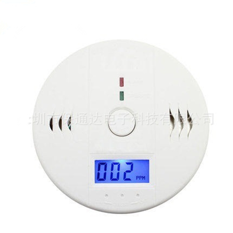 10pcs High Quality Home Safety CO Carbon Monoxide Poisoning Smoke Gas Sensor Warning Alarm Detector Kitchen