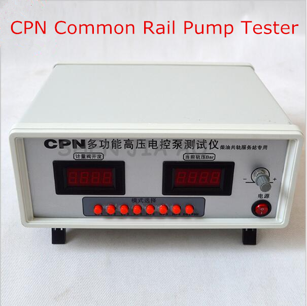 CPN Common Rail Pump Tester Multifunctional  Electronic Pump Tester For Delphi Pump High Pressure Pumps CP1, CP2, CP3  cr508 diesel common rail pressure tester and simulator for bosch delphi denso sensor test tool diagnostic tools high pressure