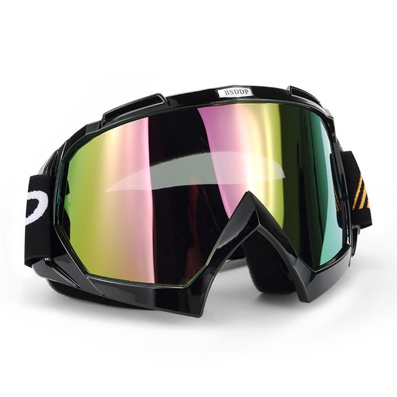 Для мужчин Для женщин Велоспорт rinding Очки лыжные очки Анти-туман ветрозащитный двухслойные маска мотоциклетные снегоход Лыжный Спорт очки