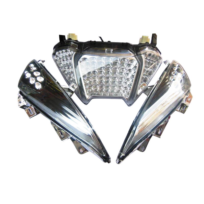 Motorcycle Turn Signals LED Light Rear Front Tail Brake Light For Yamaha Tmax500 LED T-max 500 2008-2011Motorcycle Turn Signals LED Light Rear Front Tail Brake Light For Yamaha Tmax500 LED T-max 500 2008-2011