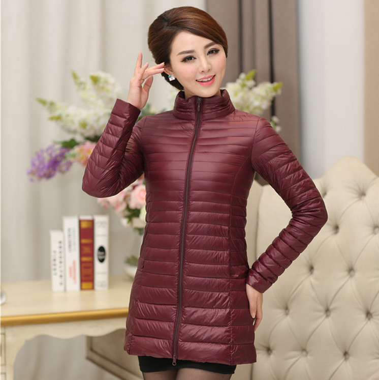 2017 Spring and winter in the elderly down jacket women in a long section of thin code-free collar-collar coat purnima sareen sundeep kumar and rakesh singh molecular and pathological characterization of slow rusting in wheat