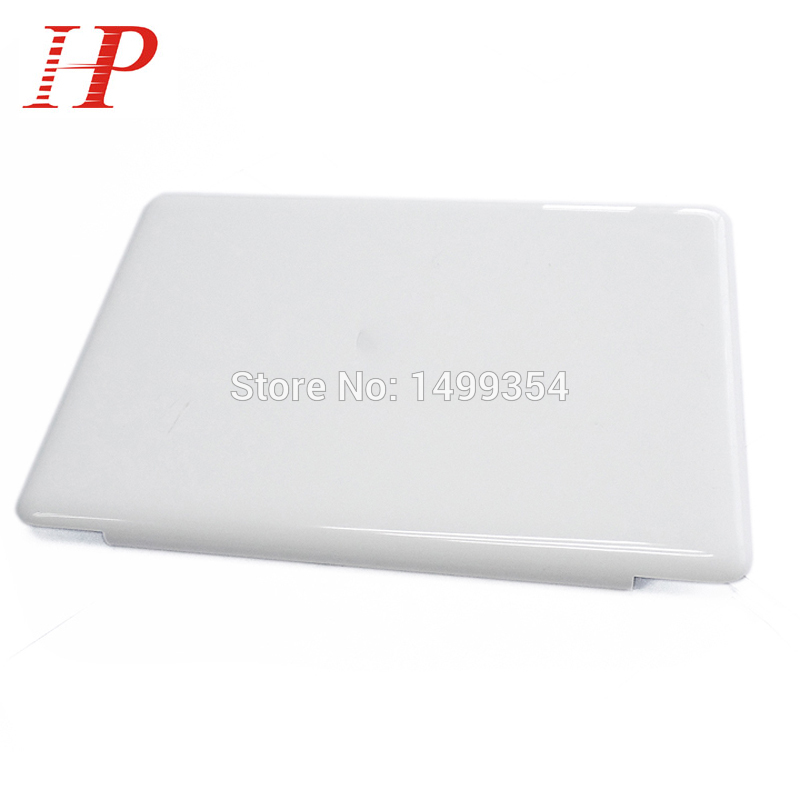 Geunine 2009 2010 Year 604-1033 White A1342 LCD Screen Cover For Apple Macbook Unibody 13'' A1342 Top screen Case MC207 MC516 new a1342 uk layout keyboard for macbook pro 13 unibody mc207 mc516 a1342 keyboard uk with power button no topcase