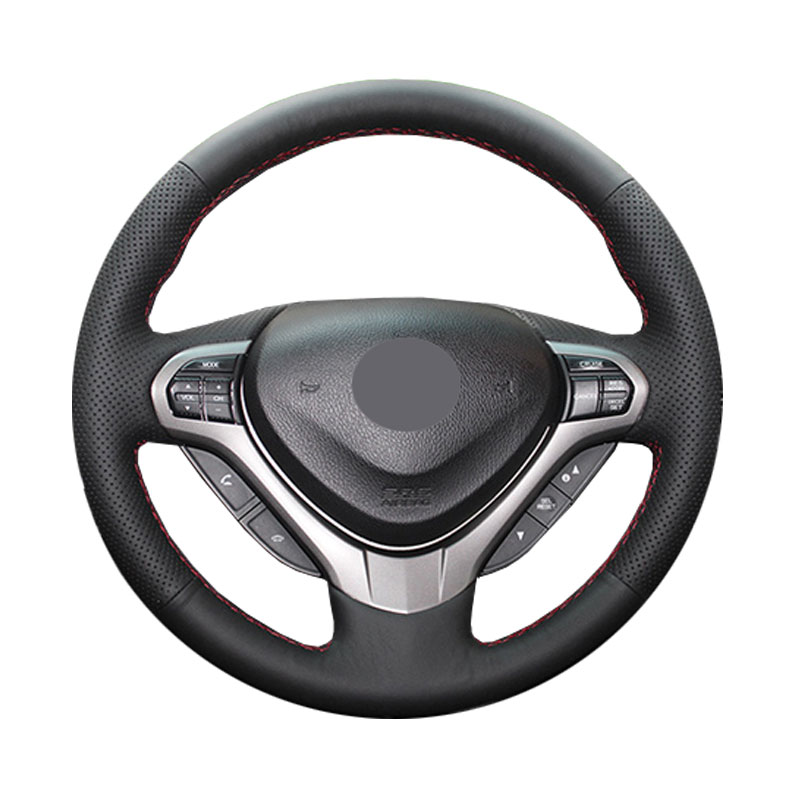 Steering wheel cover for Honda Spirior OId Accord/CRV CR-V 2007-2011/New Fit City Jazz 2014 2015 HRV HR-V 2016 Vezel 2015-2017