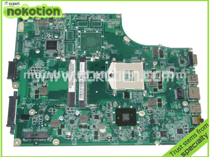 MB.PTG06.001 MBPTG06001 laptop motherboard for ACER 5745 5745G series DAZQ7BMB8E0 INTEL HM55 GMA HD DDR3 Mainboard