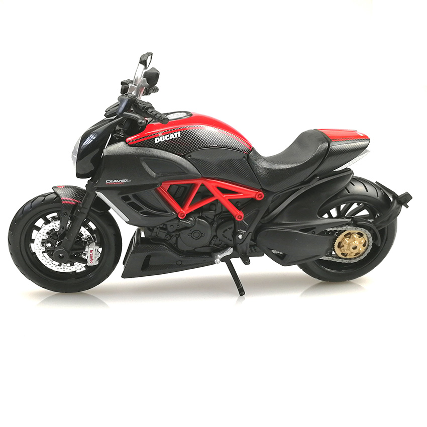 1 12 Ducati Motorcycle Model Alloy Forcecontrol Race Car Toys Hobby