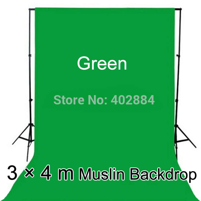 3x4 M Yeşil Ekran Fotografia Sevgililer Backdrop Pamuk Muslin - Kamera ve Fotoğraf - Fotoğraf 2