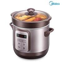 Midea Electric Slow Cooker Ceramic Casserole Stew