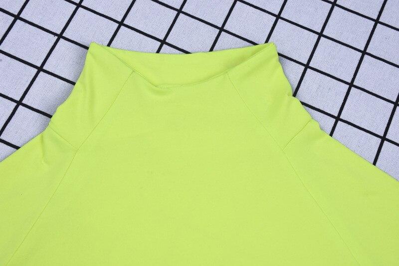 high neck long sleeve bodysuit women14