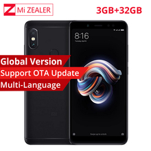 Global Version Xiaomi Redmi Note 5 3GB RAM 32GB ROM SmartPhone Snapdragon 636 Octa Core 5.99″ 18:9 12MP+5MP Dual Camera