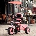 Детский трехколесный велосипед малыш тележка велосипед 1-3-5 лет дети бесплатно колесо ребенок тележки