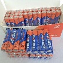 Batería PKCELL LR03 de 1,5 V AAA, 60 Uds., AM4 3A Batería alcalina, batería de único uso para termopistola electrónica