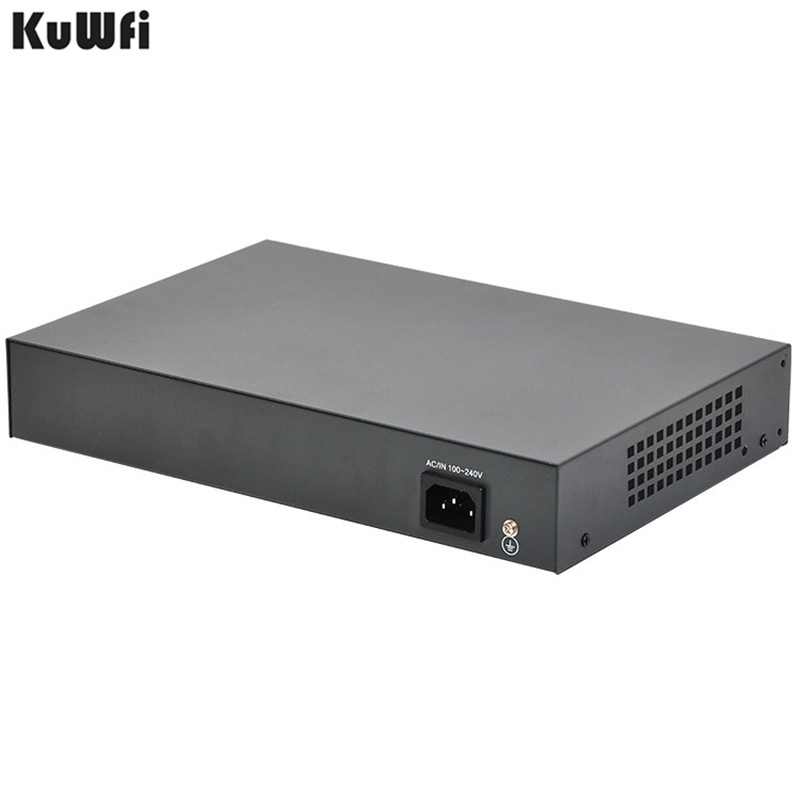 Image 5 - Gigabit 10/100/1000Mbps 48VPower 4Port POE Switch With 1Uplink And 1SFP Port For POE Camera Support VlAN MDI/MDIX Auto Flip-in Network Switches from Computer & Office