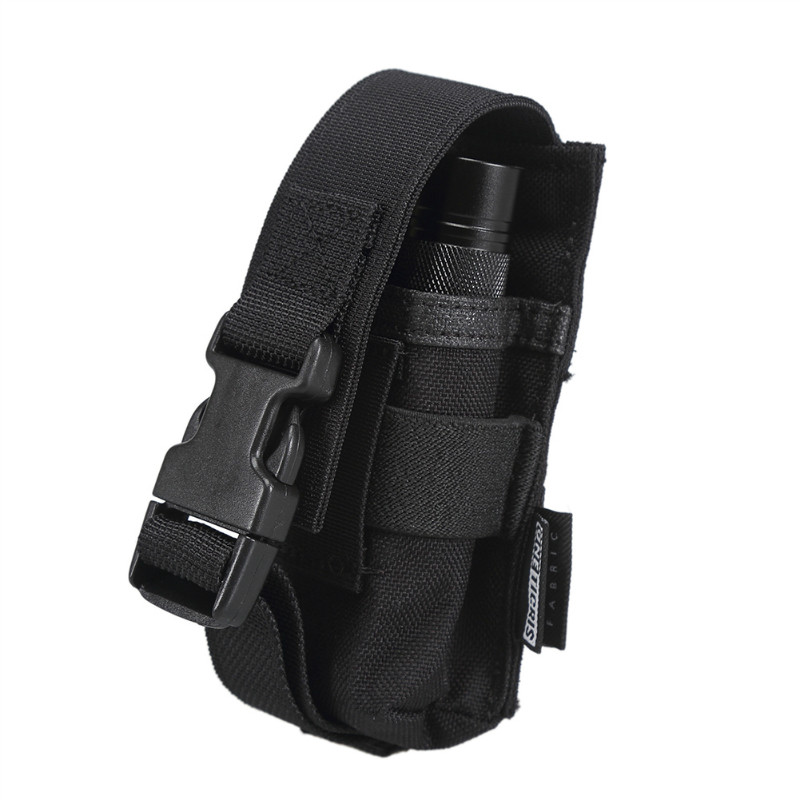 Tactical Flashlight Pouch Holster Carry Case Bag Holder f LED Flashlight Torch