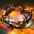 UE Pulg 220 V À Prova D' Água LED Coloridas luzes Do Feriado Do Natal Xmas Casamento Do Jardim Da Lâmpada Ao Ar Livre para o ano Novo