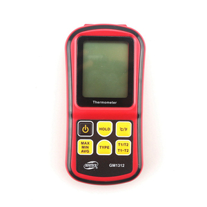 Image 2 - GM1312 Digital Thermometer  50~300C High Temperature Meter for J K T E N R S Type Thermocouple probe Termometro LCD Red