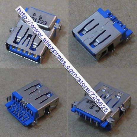 Free shipping new and original for Lenovo Asus Acer and other 3.0 USB laptop motherboard connector / jack / socket free shipping for sim900a new and original