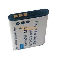 DB-L80 DB-L80A Литий-Ионная Батарея для Sanyo Xacti Камеры VPC CA100 CS1 DMX GH1 GH2 GH3 CG10 CG20 CG100 CG21 CG102 PD1 X1200