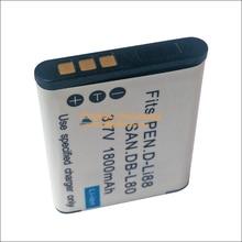 Bateria para Câmera Db-l80a Li-ion Sanyo Xacti Db-l80 VPC Ca100 CS1 DMX PD1 Cg21 Cg20 Cg100 Cg102 GH1 GH2 GH3 Cg10 X1200