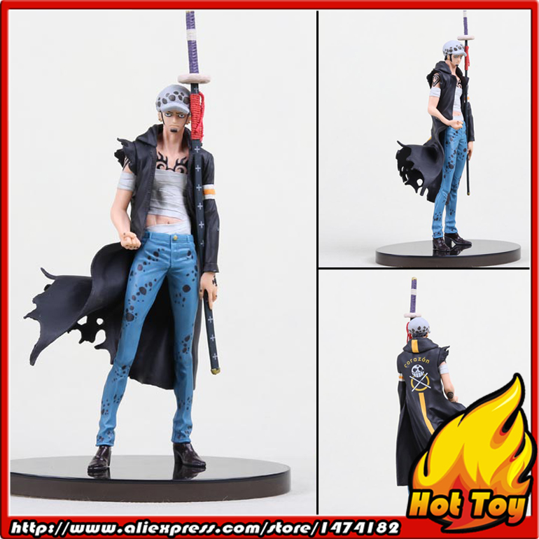 100% Original BANPRESTO SCultures BIG Zoukeiou 5 Vol.6 Collection Figure - Trafalgar Law from