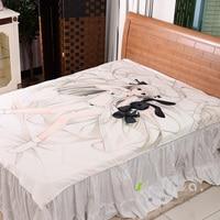 Japanese Anime Yosuga No Sora Bed Bedding Sheet Sexy Girl Bedsheet 3d Fitted Carpet Manga Duvet Covers Flannel Quilt