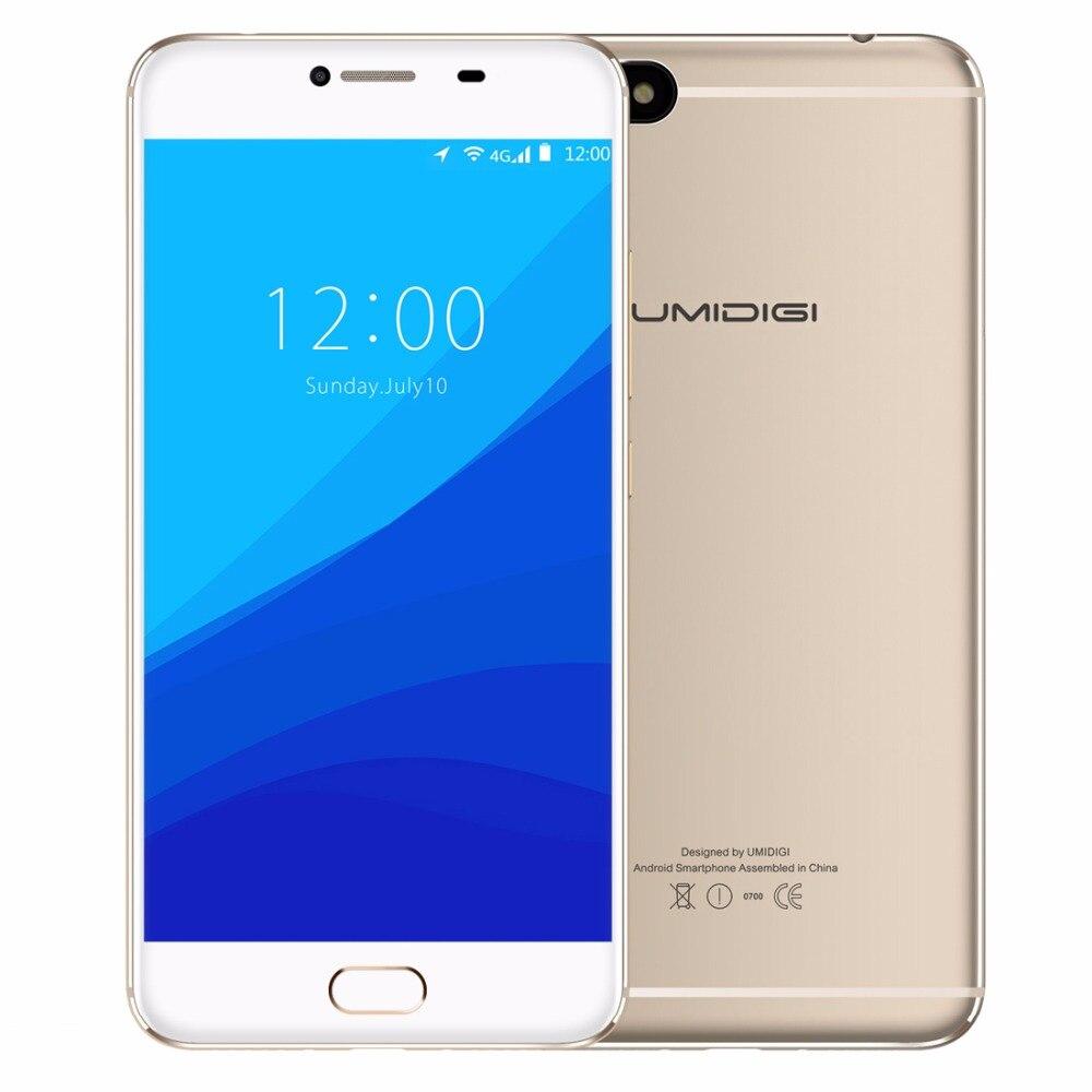 Originale UMIDIGI C NOTA Smartphone 3 GB + 32 GB Android 7.0 di Tocco Anteriore ID 5.5