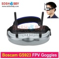 Original Boscam GS923 Wireless Video Glasses FPV Goggles with 5.8G Dual Diversity32CH Receiver for Quadcopter Aerial Photography