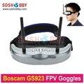 Original GS923 Wireless Boscam FPV Óculos De Vídeo Óculos com 5.8G Dual Diversity32CH Receptor para Fotografia Aérea Quadcopter