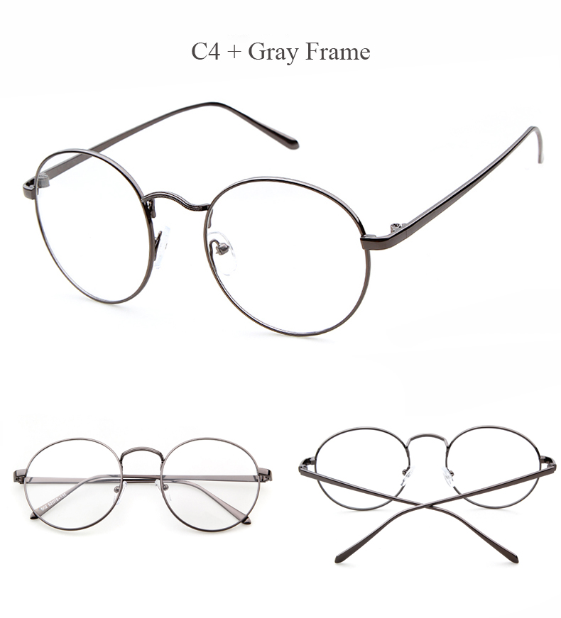 4f93d1bcf6 Dropwow LongKeeper Oversized Korean Round Glasses Frame Clear Lens ...