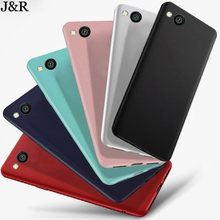 J&R Case For Xiaomi Redmi Go Case Slim Matte Soft TPU Back Cover Cases For Redmi Go Phone Bags Protective Fundas(China)