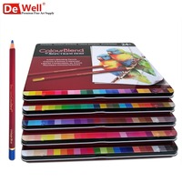 Artist Quality 120 Colored Pencils Professional Color Pencils 120 Oil Based Colour Pencils Set for Drawing Art Supplies