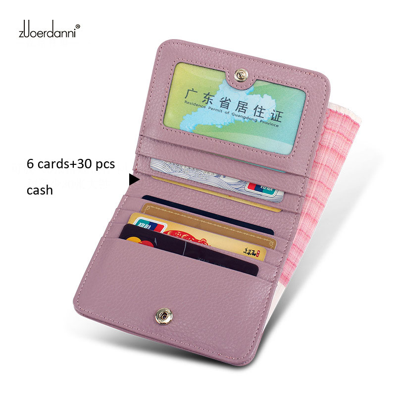 New Design Slim Genuine Leather Women Wallet and Purse Mini Thin Ladies Coin Purses Female Small Clutch Money Bags Card Holder new small designer slim women wallet thin zipper ladies pu leather coin purses female purse mini clutch cheap womens wallets