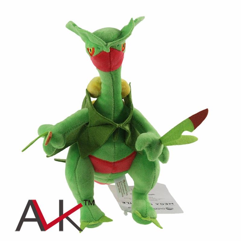 24 cm Pikachu juguetes de peluche muñeca de bolsillo muñeca de juguete mega evolución lagarto la bestia muñecas de peluche suave regalo de dibujos animados para niños