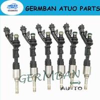 Nuevo y conjunto de alta calidad de 6 inyector de combustible gas estilo OE para Ford Part No # FX23-9F593-AC