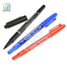 3 шт. Портативные водонепроницаемые чернила Электроника CCL анти-травление печатной платы чернил маркер двойная ручка для DIY PCB маркер ручка
