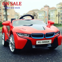The new big baby children Remote Control RC ride on electric car four wheel double drive toy car rechargable baby can sit on