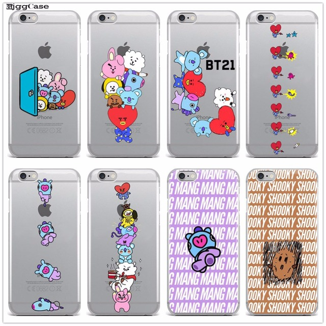 Bts Bangtan Boys Bulletproof Boy Scouts Bt21 Love Yourself Soft Silicone Phone Case For Iphone 5