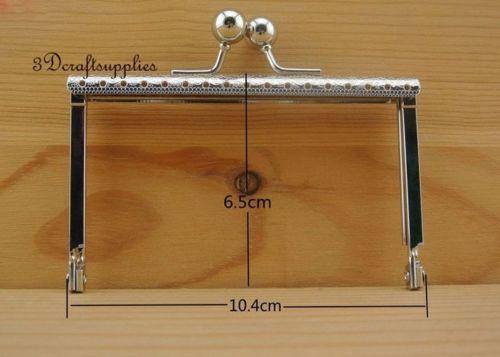 bag purse frame metal frame sewing frame clasp square 10.5 cm x 6.5cm nickel Z58 bag frame sewing purse frame metal frame silver 3 1 4 inch x 1 1 2 inch d78