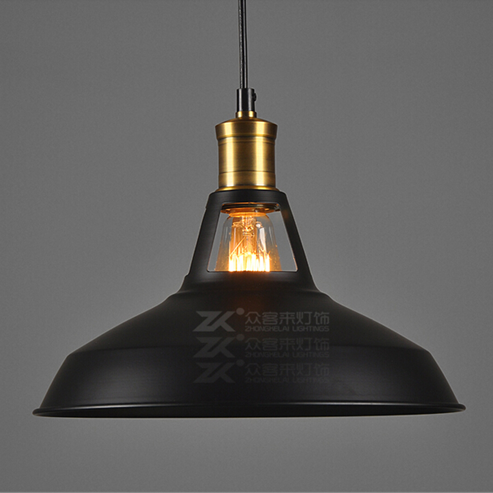 Ecopower Industrial Barn Mini Metal Pendant Light 1 Light ...