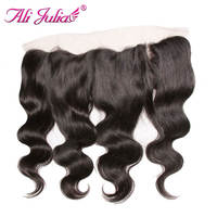 Ali Julia Company Brazilian Remy Hair Lace Frontal 13 4 Free Part Ear To Ear Frontal