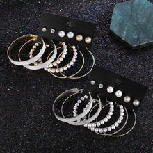 Round Geometric Acrylic Resin Drop Earrings For Women Vintage Gold Color Dangle Za Earring Boho 2019 Female Fashion Jewelry(China)