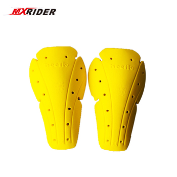Motorcycle Soft Armour Kit Shoulder Elbow Knee Protector Pad Body Armor Yellow Type B Protective Gears Back Protector