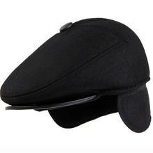 b34ebce60b5 Buy men s wool beret and get free shipping on AliExpress.com