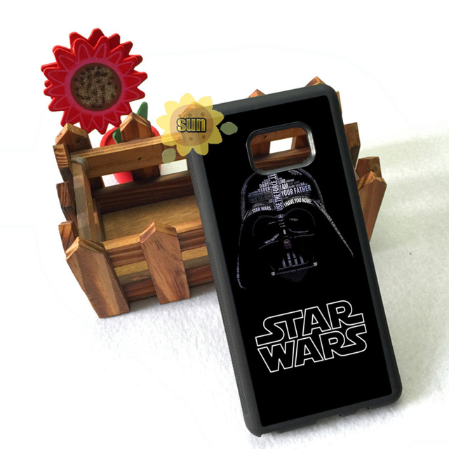 darth vader star wars soft edge cases for samsung s5 s6 s6edge plus s7 s7edge s8 s8plus note2 note3 note4 note5 cover case